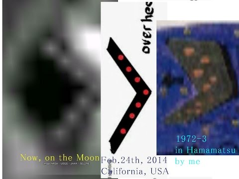1966B V shaped  UFO over Florida, USA, it came from nowhereフロリダに現れたUFO・それは透明だった A Report from R  Wil