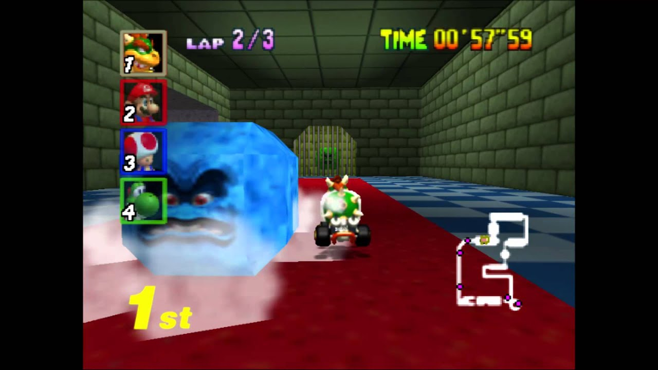 Mario Kart 64 Bowser S Castle With Mlp Fan Music By