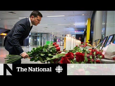 Ukraine mourns, sends