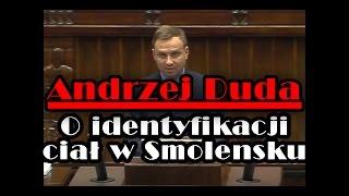 Andrzej Duda miażdży Ewę Kopacz w sprawie Smoleńska (2011 r.)
