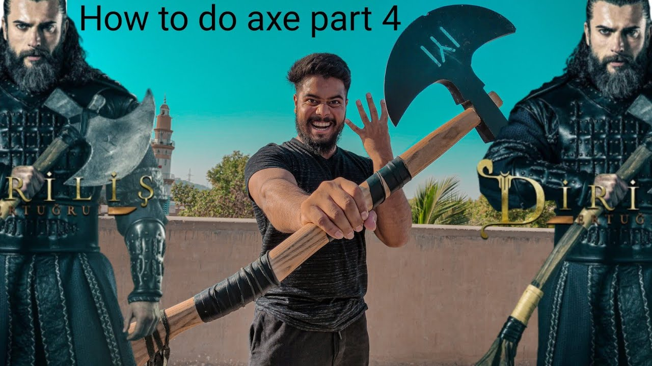 Download how to do turgut axe  part 4  Syed Fahad  thefunfin  turgu axe  ertugrul ghazi  