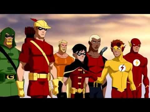 Young Justice 2010 Animated Series Sneak Peak trailer