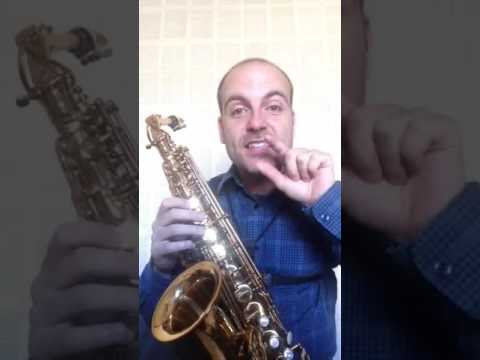 "Saxophone masterclass: ""Fake Notes"" ""Notas Falsas"" Pedrosaxo."