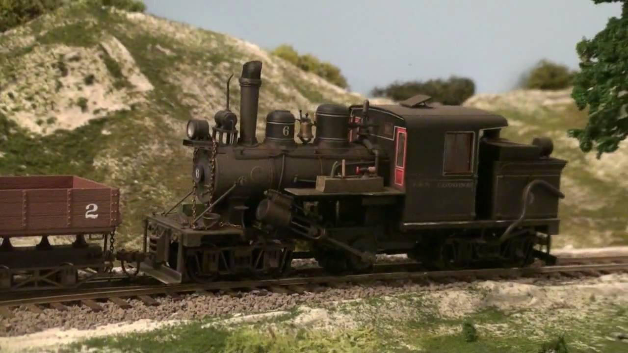 John Cantwell's Kaslo & Slocan Railway On30 Layout