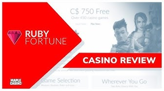 Take A Spin At Ruby Fortune's Online Casino 💎 | Maple Casino Official Review 2020