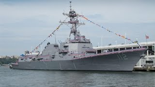 USS Michael Murphy DDG-112 Commissioning Ceremony