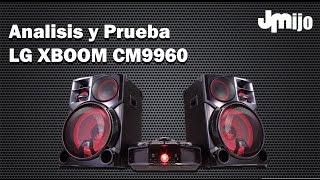 LG XBOOM CM9960 - Analisis & Prueba Juanmanuelijo