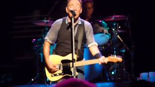 "Bruce Springsteen ""Pretty Flamingo ""PIttsburgh 10/27/12"