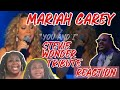 MARIAH CAREY | YOU AND I | STEVIE WONDER TRIBUTE | REACTION!!! I LOVE HER!!! 😩😩😩😍