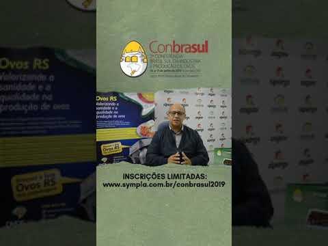 2ª Conbrasul Ovos 2019 - Contagem Regressiva