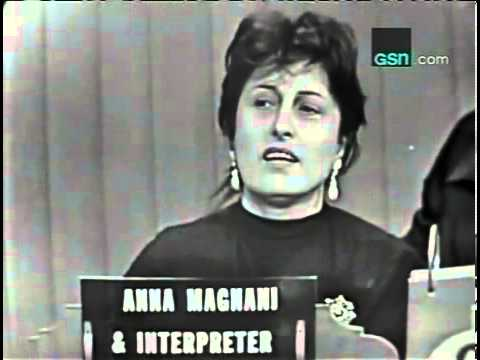 ANNA MAGNANI - What's My Line