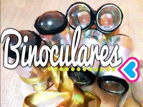 Binoculares Caseros Con Latas De Refresco Manualidades Con