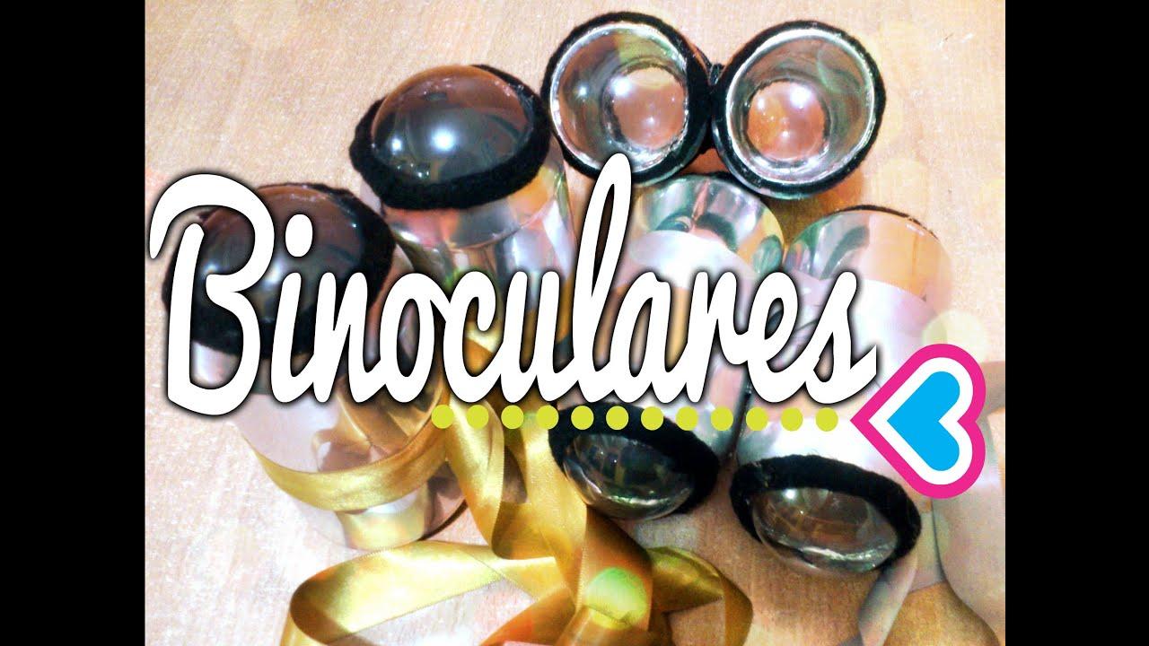 Binoculares Caseros Con Latas De Refresco Manualidades Con Mariel Picazo