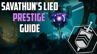 Destiny 2 : Ausführlicher Prestige Dämmerung Guide | Savathuns Lied
