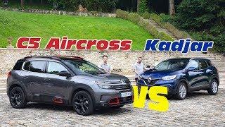 Le Citroën C5 Aircross affronte le Renault Kadjar