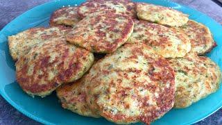 Оладьи из КАБАЧКОВ ИДЕАЛЬНЫЙ Рецепт Кабачковые оладушки с сыром Zucchini pancakes