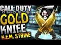 """COD: Ghosts - """"GOLD KNIFE"""" KEM STRIKE - KNIFE ONLY KEM STRIKE! (COD Ghosts """"GOLD"""" Knife)"""