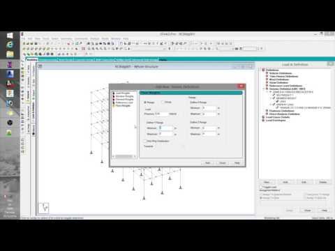 03 Staad Basics - Modeling p2, UBC 97, Concrete