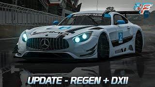 Update - Regen + DX11  | Rfactor 2 [DX11] [GER] Mercedes-Benz AMG GT GT3 @ Silverstone