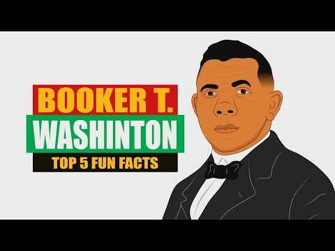 Booker T. Washington is an Icon in Black History! Check out our Top 5 Fun Facts for kids