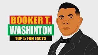 Booker T. Washington is an Icon in Black History! Check out our Top 5 Fun Facts!