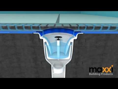 การวางท่อระบายน้ำ  / Maxxi Drain Line (Shower Channel)
