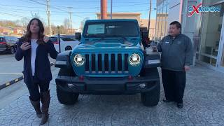 2020 Jeep Wrangler Unlimited Rubicon For Sale at Oxmoor Chrysler. Louisville, KY