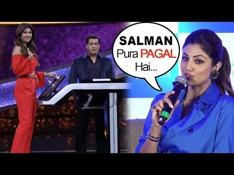 Shilpa Shetty Calls Salman Khan PAGAL in...