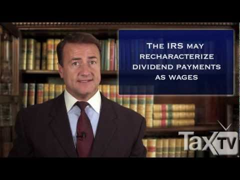 S Corporation Shareholder Compensation - www.TaxTV.com