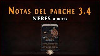 Path of Exile - Liga Delve || Notas del Parche/Patch Notes 3.4