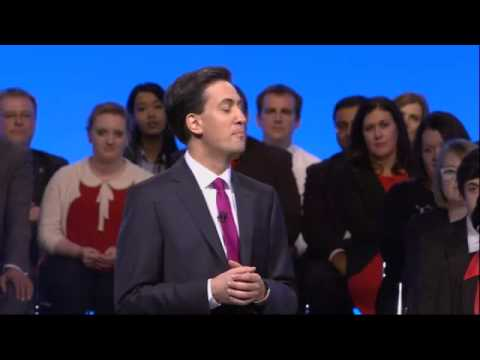 Ed Miliband Powerful Speech Gets Standing Ovation