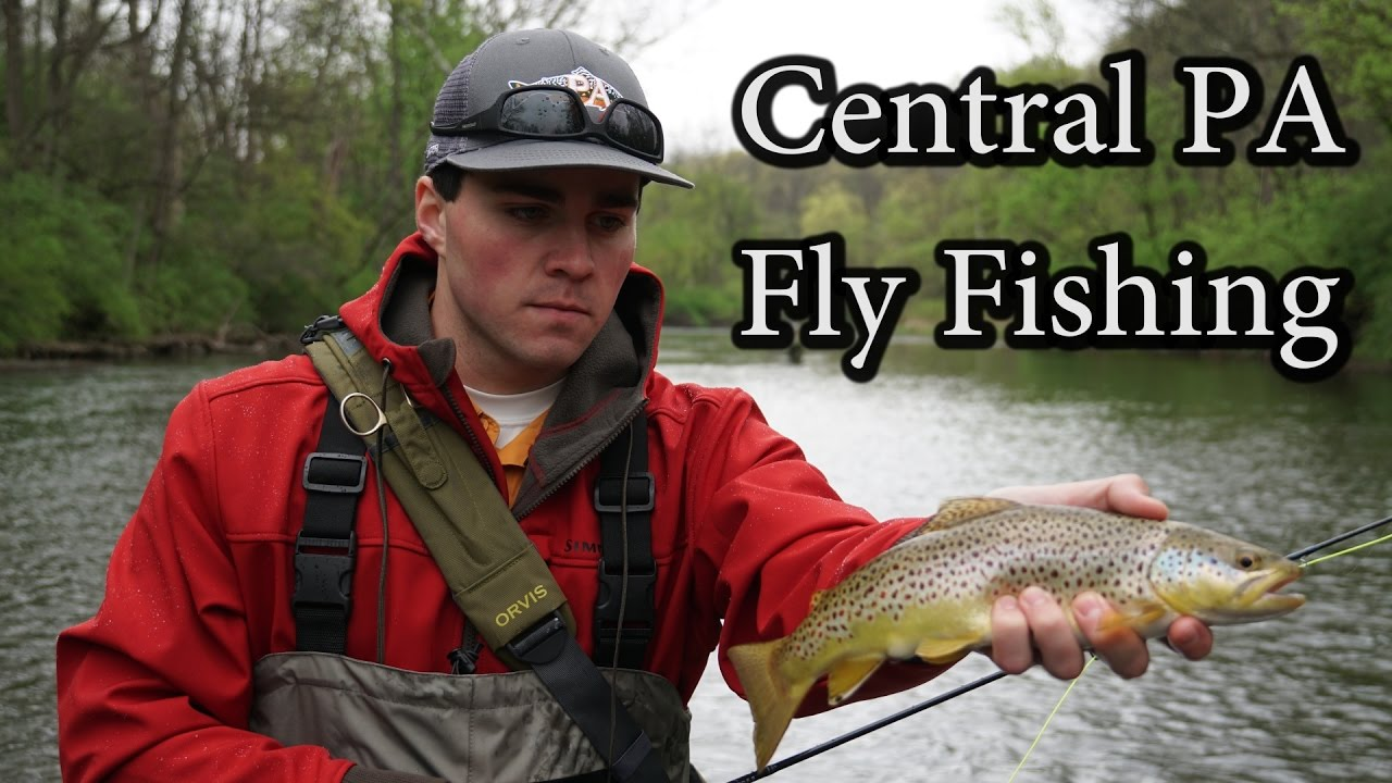 Central pennsylvania fly fishing for trout youtube for Free fishing day 2017 pa
