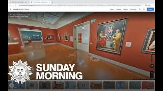 Visiting museums online