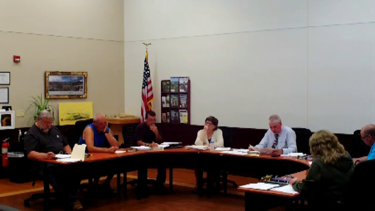 Dannemora Town Board  8-29-18