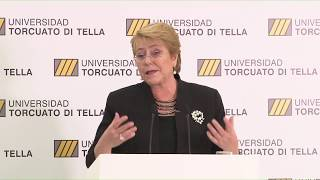 Conferencia de Michelle Bachelet: