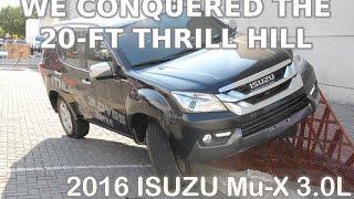 Onboard: 2016 Isuzu Mu-X 3.0L