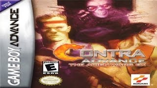 Contra Advance - The Alien Wars EX (GBA)