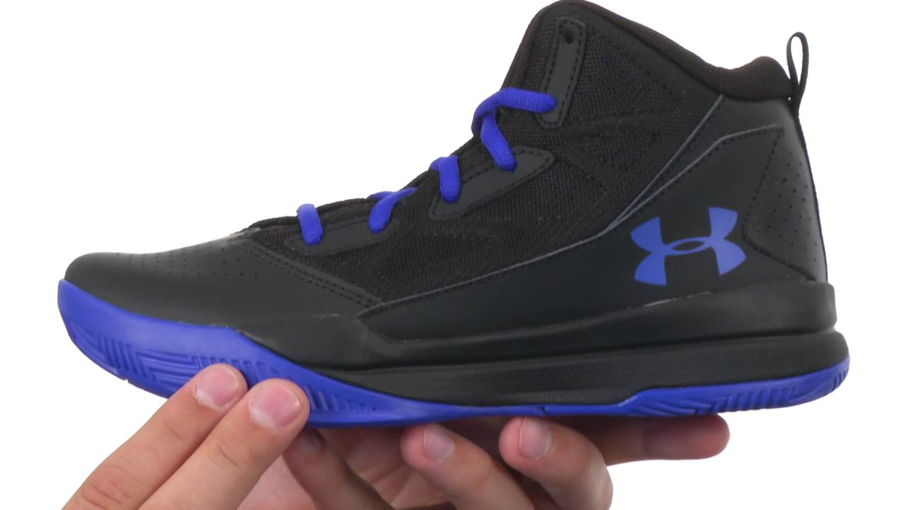 c977d43c3ff Under Armour Kids UA BGS Jet Mid (Big Kid) SKU 8708015 - YouTube