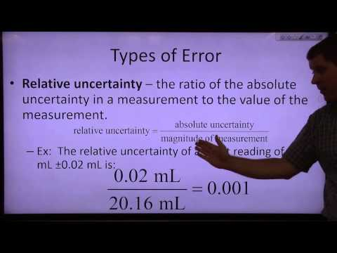 experimental uncertainty and error analysis 4 uses of uncertainty analysis (i) • assess experimental procedure including identification of potential difficulties – definition of necessary steps – gaps • advise what procedures need to be put in place for measurement • identify instruments and procedures that control accuracy and precision – usually one, or at most a small.