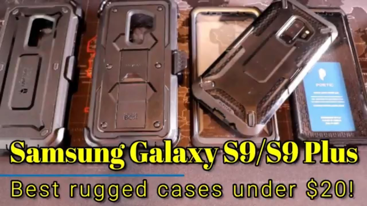 low priced 0861b fc77e Samsung Galaxy S9/S9 Plus - Best rugged cases under 20!