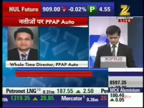 Zee News - PPAP Automotive Ltd.