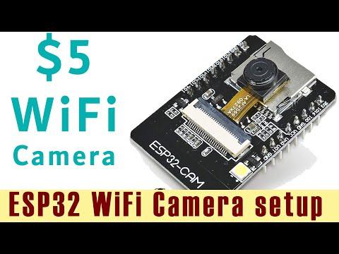 How To Setup And Use ESP32 WiFi Camera