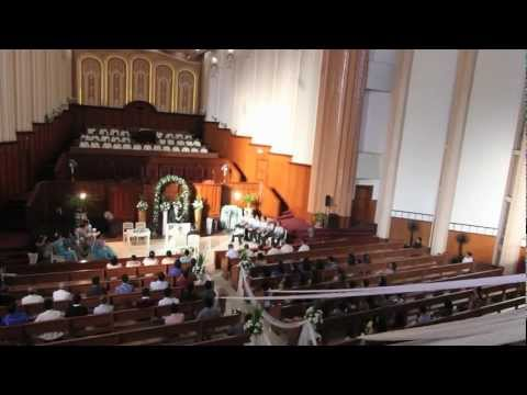 Iglesia Ni Cristo Wedding A thousand years by Christina Perri  Vincent and Rosalie