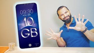اول هاتف مع 10 جيجا رام !