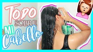 MI RUTINA DE CABELLO!! +  LES CUENTO TODO! - Manuela Giraldo