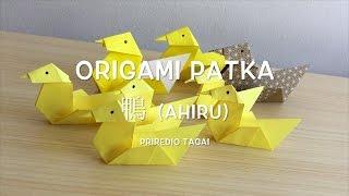 Origami patka - Tagai