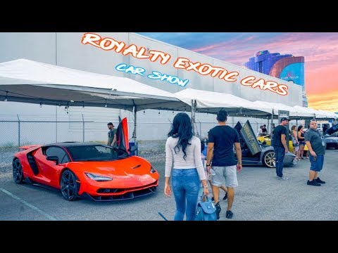 Las Vegas Supercar Show Royalty Exotic Car S Style Youtube