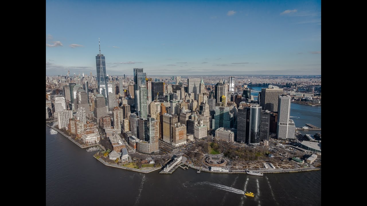 NEW-YORK - Drone footage
