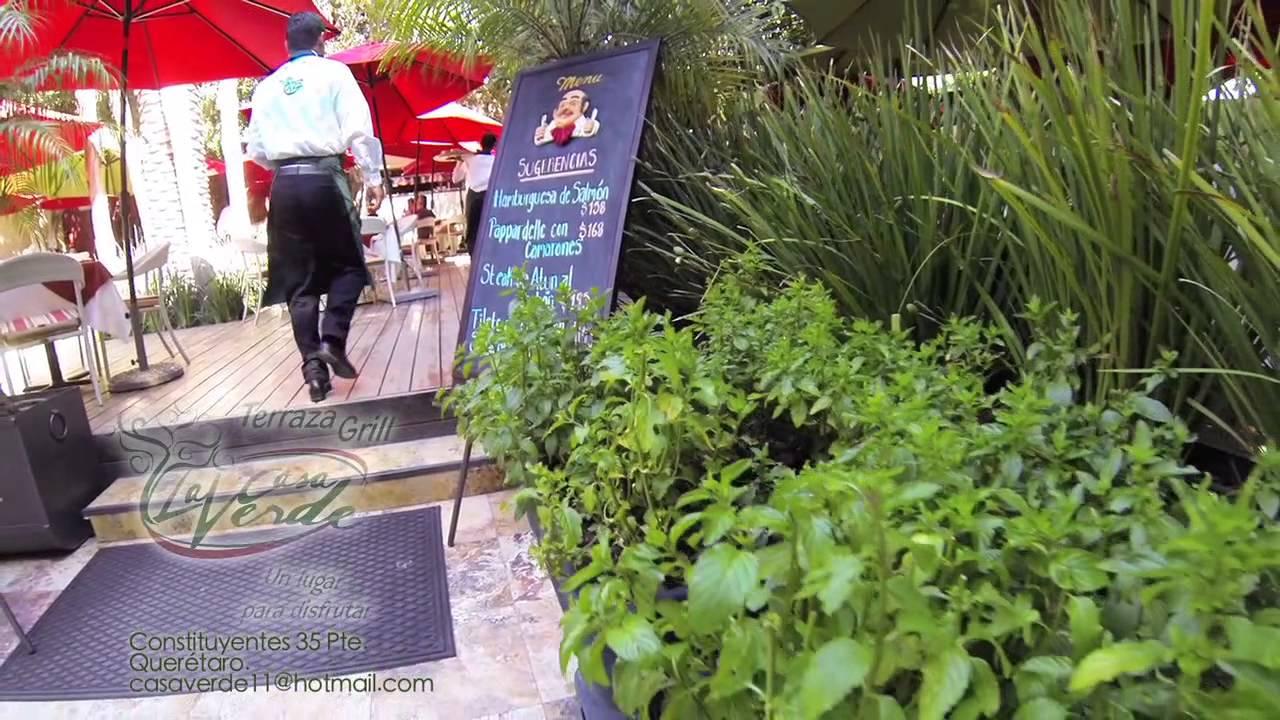 Restaurante La Casa Verde Queretaro