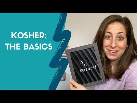 Kosher: The Basics / What Is Kosher?